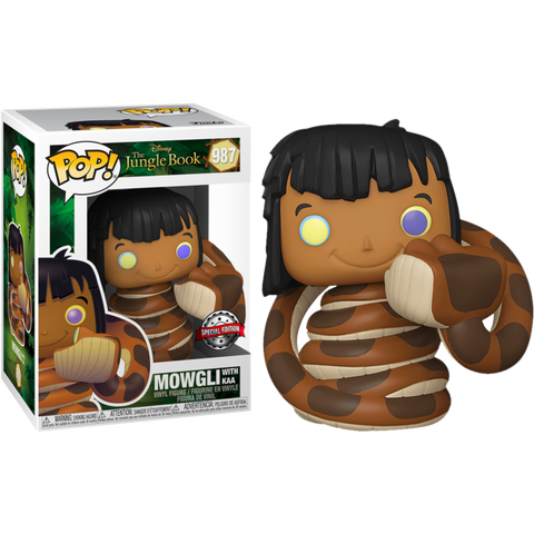 POP! Disney: Jungle Book - Mowgli with Kaa