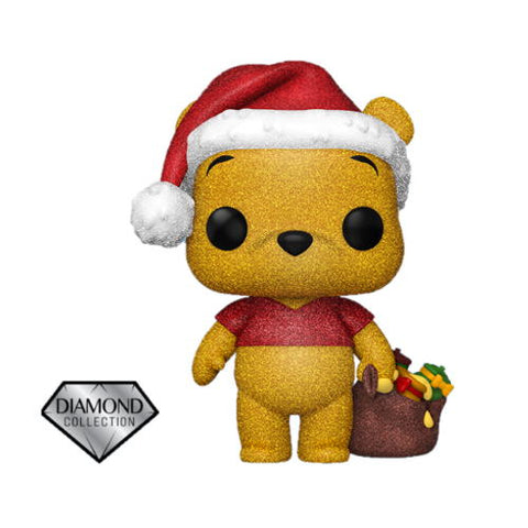 POP! Disney: Holiday - Winnie the Pooh (Diamond Glitter)