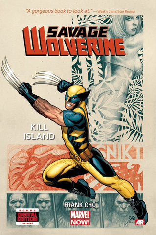Savage Wolverine - Volume 1 : Kill Island