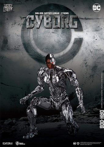 Dynamic 8ction Heroes: Justice League - Cyborg