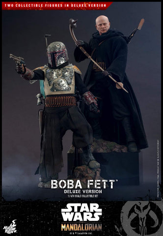 *PREORDER DEPOSIT* Star Wars: The Mandalorian - Boba Fett (Deluxe Version) 1/6th Scale Collectible Set