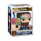 POP! Movies: Back to the Future - Marty in Future Outfit (Metallic)