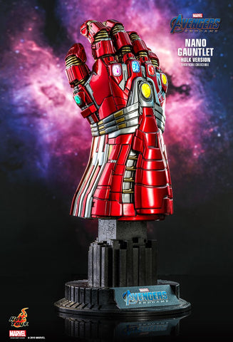 Avengers Endgame: Nano Gauntlet (Hulk Version) 1/4th Scale Collectible