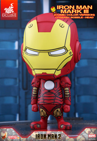 Iron Man 2: Iron Man Mk III Comic Color Bobble-Head Figure