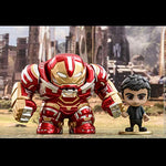 Avengers Infinity War: Bruce Banner and Hulkbuster Bobble-Head Collectible Set