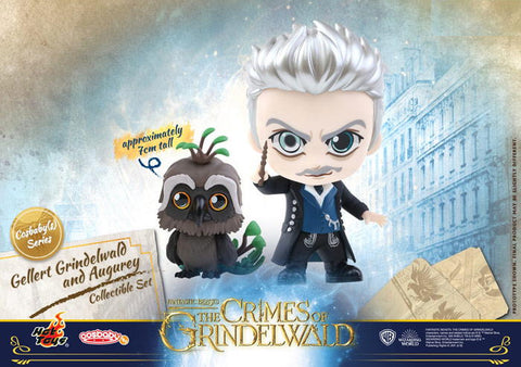 Fantastic Beasts: The Crimes of Grindelwald Gellert Grindelwald and Augurey Collectible Set