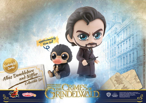 Fantastic Beasts: The Crimes of Grindelwald Albus Dumbledore and Niffler Collectible Set