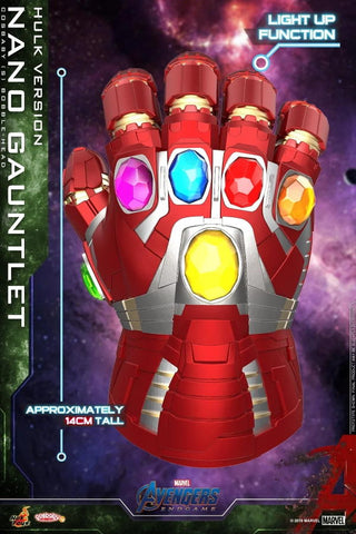 Avengers Endgame: Nano Gauntlet (Hulk Version) Bobble-Head