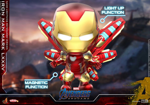 Avengers Endgame: Iron Man Mk LXXX5 (Nano Lightning Refocuser) Bobble-Head