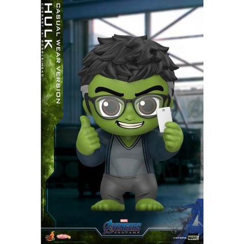 Avengers Endgame: Hulk (Casual Wear) Bobble-Head