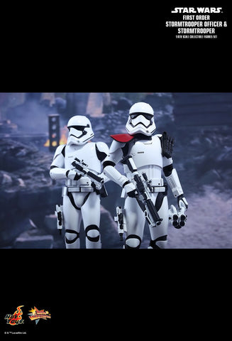 Star Wars: The Force Awakens First Order Stormtrooper Officer and Stormtrooper 1/6th Scale Collectible Set
