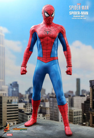 *PREORDER DEPOSIT* Marvel's Spider-Man: Spider-Man (Classic Suit) 1/6th Scale Collectible Figure