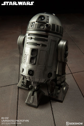 Star Wars R2-D2 Unpainted Prototype