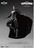Dynamic 8ction Heroes: Justice League - Superman (Black)