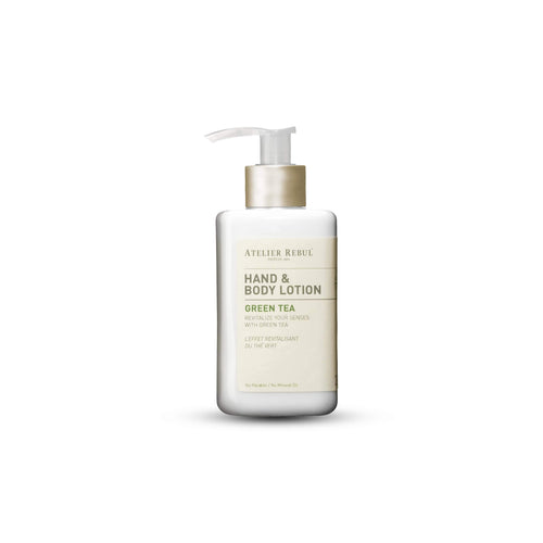 Atelier Rebul Groene Thee Hand & Body Lotion 250ml - LASIDORE Beauty Bar