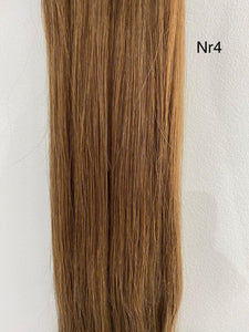 Clip-in Hairextension 100% echt haar #4 - LASIDORE Beauty Bar