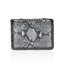 LASIDORE SNAKE EFFECT SATCHEL - LASIDORE Beauty Bar