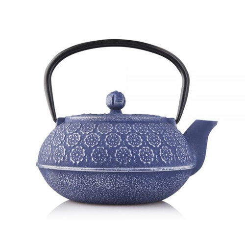 LILAC BLOSSOM – CAST IRON TEAPOT - LASIDORE Beauty Bar