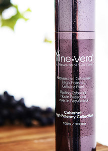 Vine Vera Resveratrol Cabernet High Potency Cellular Peel 100 ml / 3.38 fl. oz - LASIDORE Beauty Bar