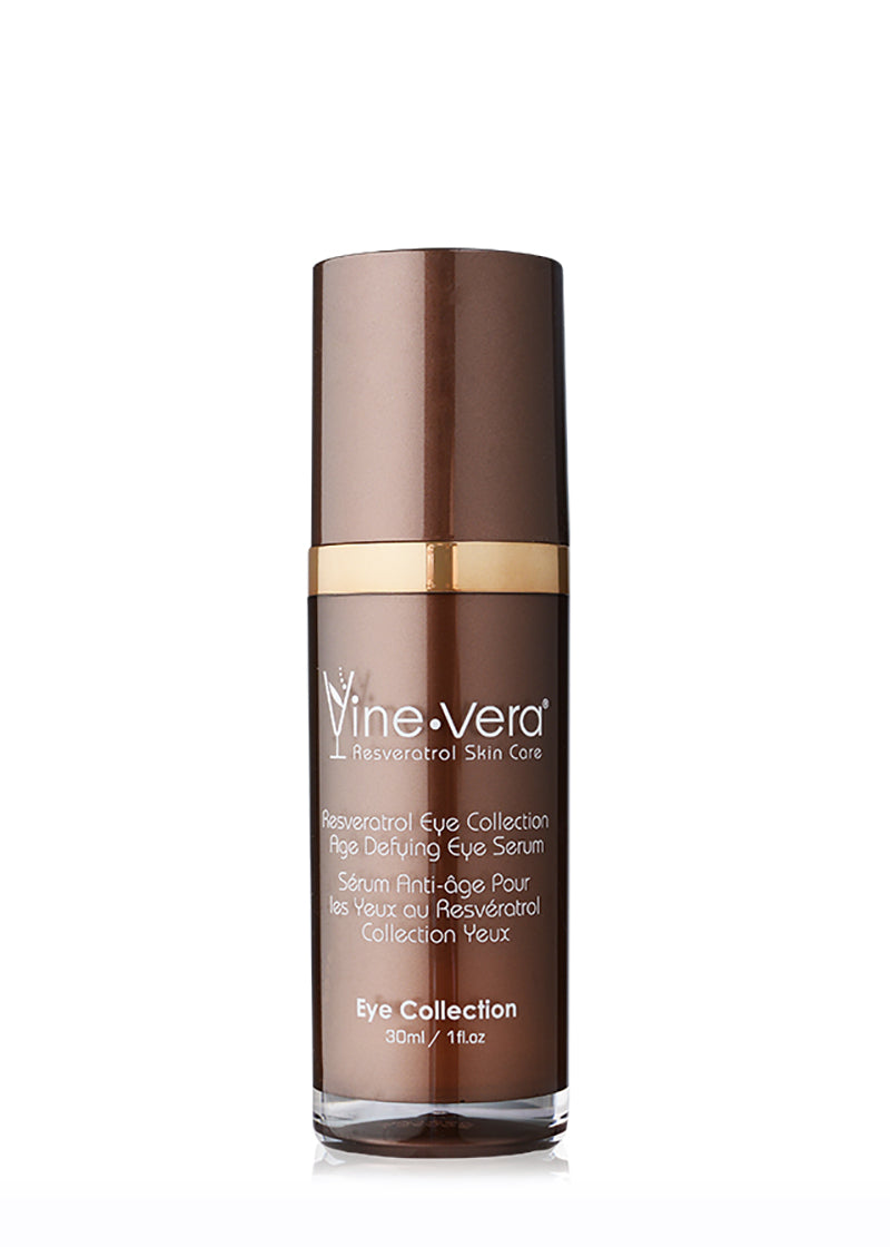 Vine Vera Resveratrol Eye Collection Age Defying Eye Serum 1 fl. oz / 30 ml - LASIDORE Beauty Bar