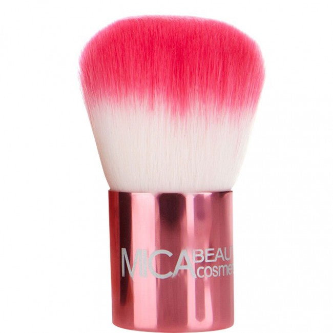 MicaBeauty PREMIUM PINK KABUKI BRUSH - LASIDORE Beauty Bar