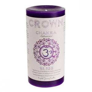 Chakra Scented Pillar Candles - LASIDORE Beauty Bar