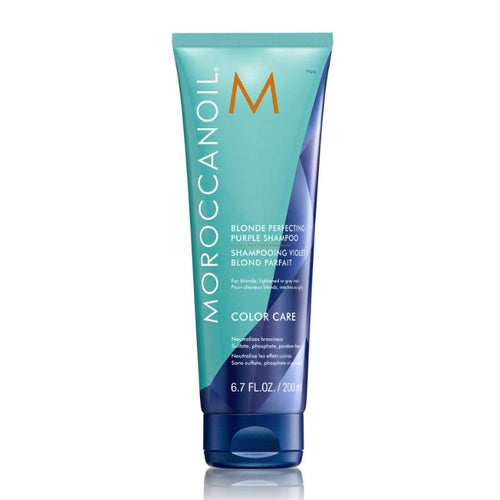 Moroccanoil BLONDE PERFECTING PURPLE SHAMPOO - LASIDORE Beauty Bar