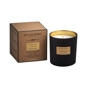 Atelier Rebul Scented Candle Tobacco Leaves 210g - LASIDORE Beauty Bar