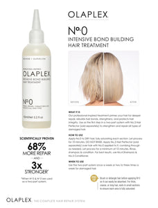 Olaplex No.0 Intensive Bond Building Hair Treatment 155ml - LASIDORE Beauty Bar