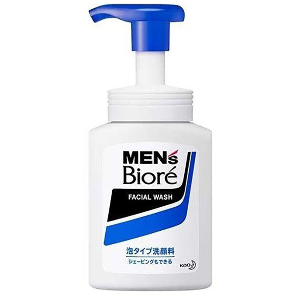 KAO BIORE MENS FOAMING FACE WASH