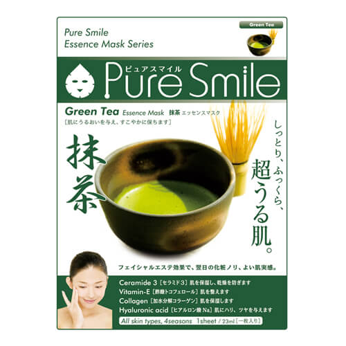 Load image into Gallery viewer, SUNSMILE PURE SMILE ESSENCE MASK GREEN TEA