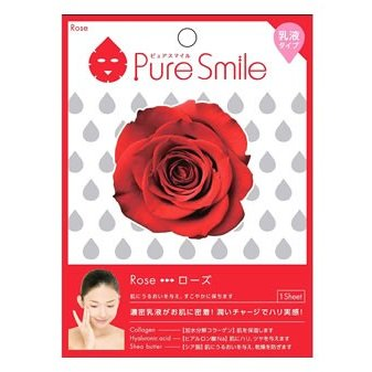 PURE SMILE EMULSION ESSENCE MASK ROSE 1 PIECE