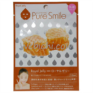 SUNSMILE PURE SMILE MILKY ESSENCE MASK ROYAL JELLY