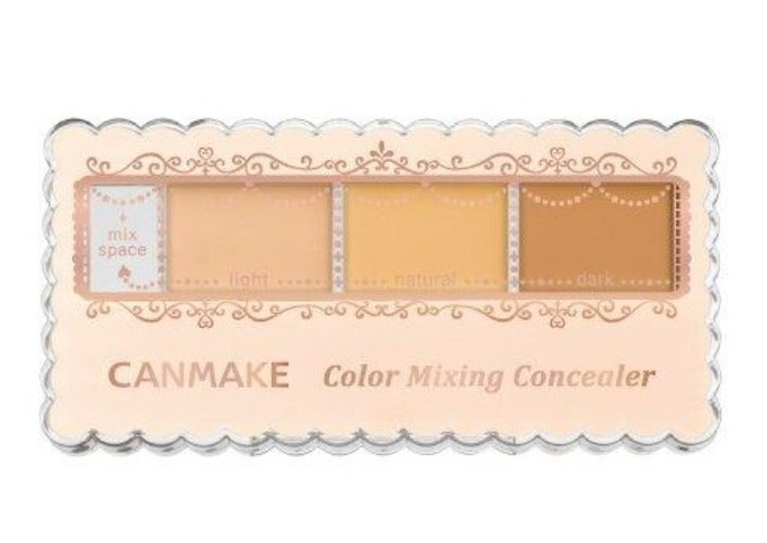 CANMAKE COLOR MIXING CONCEALER, 01 LIGHT BEIGE