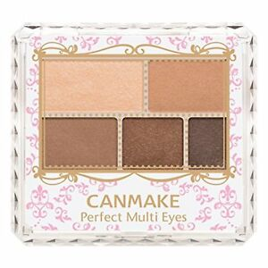 Load image into Gallery viewer, CANMAKE PERFECT MULTI EYES, NO. 02, URBAN CARAMEL