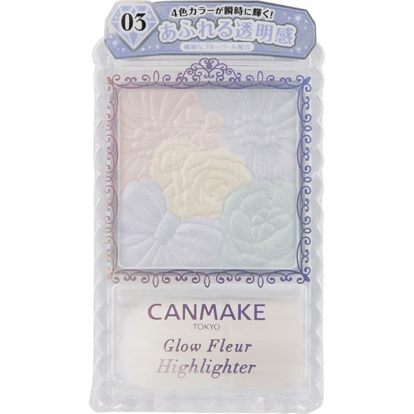 CANMAKE GLOW FLEUR HIGHLIGHTER [03] CRYSTAL LIGHT