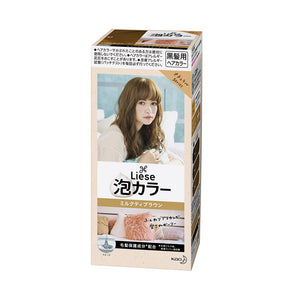 Load image into Gallery viewer, KAO LIESE BUBBLE HAIR COLOR MILKTEA BROWN