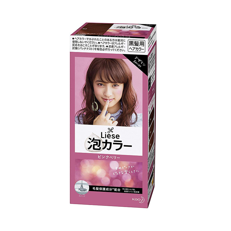 KAO LIESE REETTIA BUBBLE HAIR DYE PINK BERRY 110ML