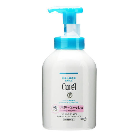KAO CUREL FOAM BODY WASH PUMP 480ML