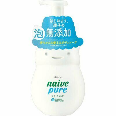 Load image into Gallery viewer, KRACIE NAIVE PURE FOAMING BODY SOAP JUMBO