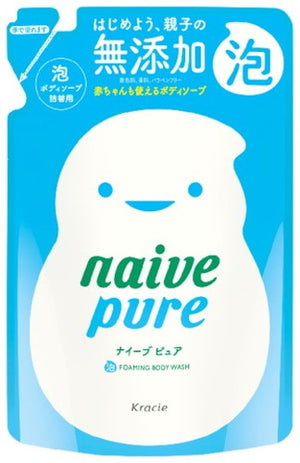 Load image into Gallery viewer, KRACIE NAIVE PURE FOAMING BODY SOAP REFILL