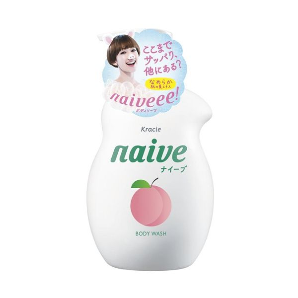 Load image into Gallery viewer, KRACIE NAIVE BODY SOAP PEACH PUMP