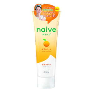 Load image into Gallery viewer, KRACIE NAIVE FACE WASH YUZU CERAMIDE