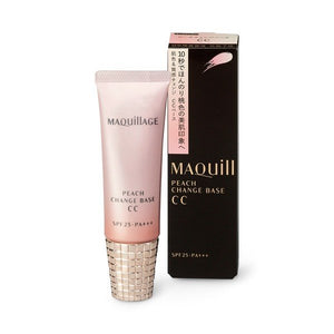 Shiseido MAQuillAGE Peach Change Base CC SPF25 PA+++ 30g