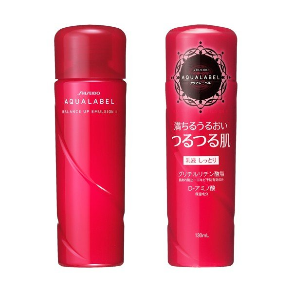 SHISEIDO Aqualabel Balance Up The Emulsion Moisturizing Skin Conditioning Emulsion (2) Mo