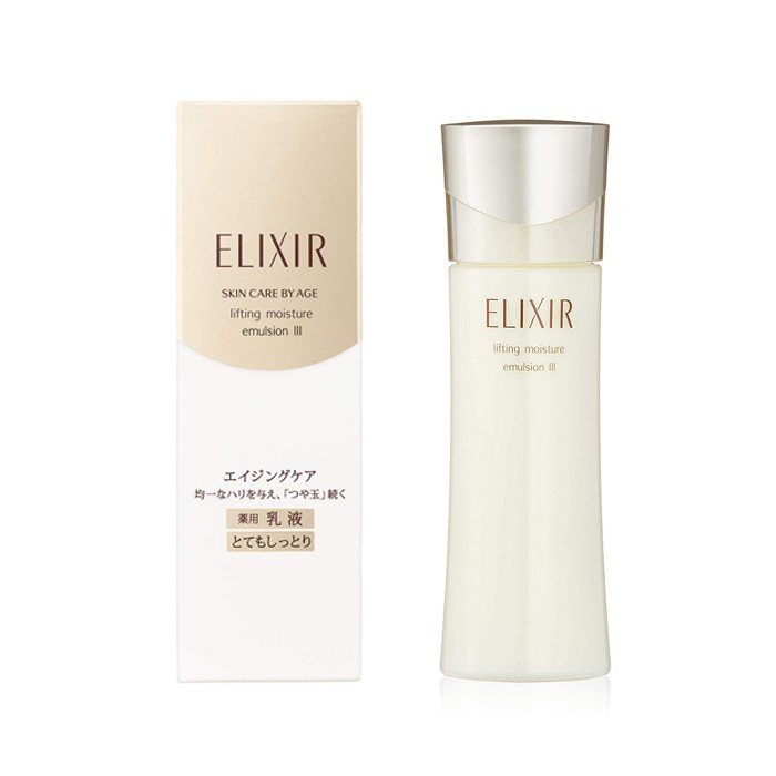 SHISEIDO ELIXIR SUPERIEUR LIFT MOISTURE EMULSION T 3 (VERY MOIST) 130ML
