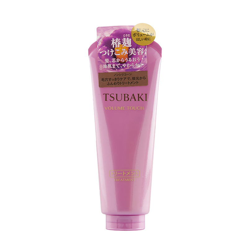 SHISEIDO TSUBAKI VOLUME TOUCH HAIR TREATMENT 180G NON SILICON