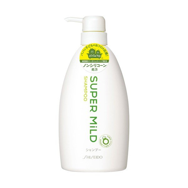 SHISEIDO FT SUPER MILD SHAMPOO GREEN PUMP
