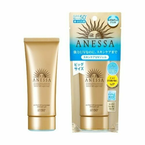 SHISEIDOANESSA PERFECT UV SUNSCREEN SKINCARE GEL SPF 50+ 90ML/3OZ
