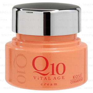 Load image into Gallery viewer, KOSE VITAL AGE Q10 FACIAL CREAM